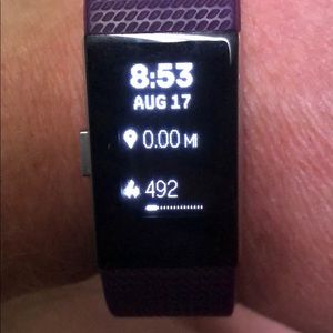Used Fitbit charge 2